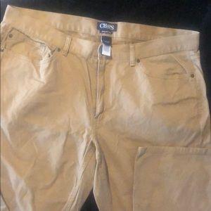 Chaps Men's Tan Khakis 38x30